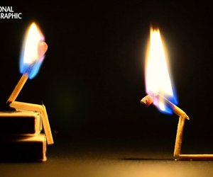 cool, fire, and photography image
