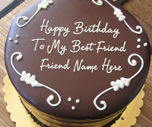 chocolate cakes, cake ideas, and best friend birthday image