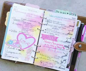 planner, scrapbook, and stationary image