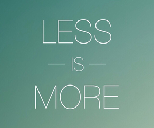 less, more, and quote image