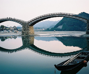 bridge, photography, and water image
