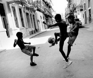 football, kids, and play image