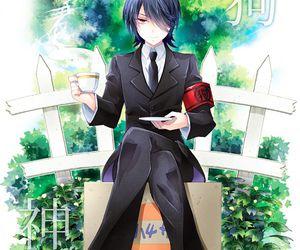 anime and gugure! kokkuri-san image