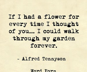 flower, garden, and quote image