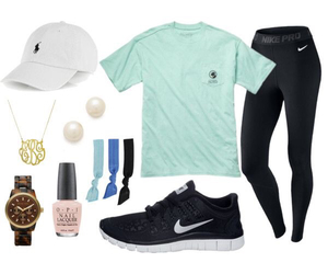 summer, nike, and outfit image