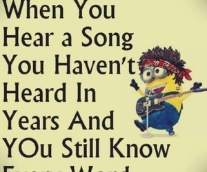 minions and song image
