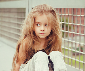girl, kids, and hair image