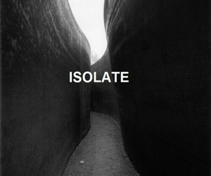 isolate, black and white, and tumblr image
