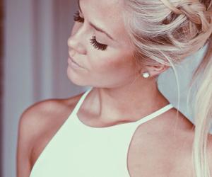 beautiful, makeup, and blonde image