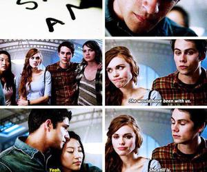teen wolf, stiles, and scott mccall image