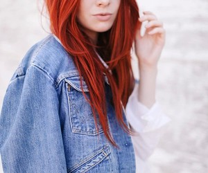 colored, hair, and coloredhair image