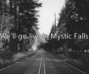mystic falls, the vampire diaries, and tvd image