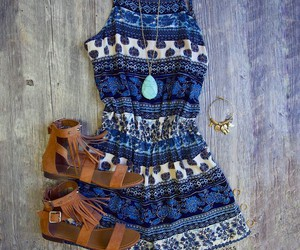 paisley, summer, and indie fashion image