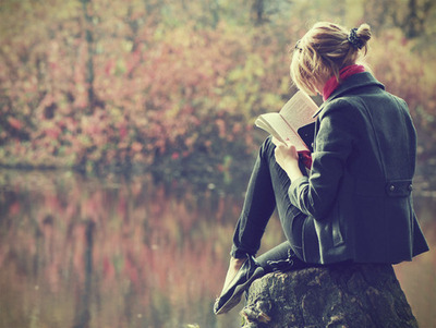 book, nature, and books image