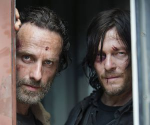 jizz, the walking dead, and rick grimes image
