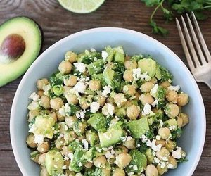healthy, avocado, and fit image