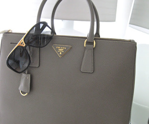 Prada, bag, and sunglasses image