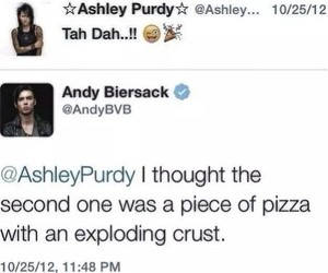funny, twitter, and black veil brides image