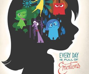 inside out, disney, and anger image