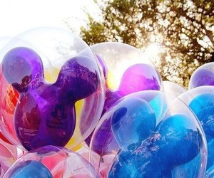 disney, balloons, and summer image