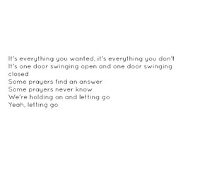 beautiful, letting go, and life image