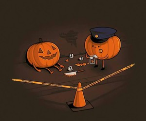 police and ️️hallowen image