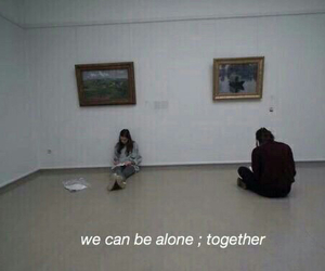 alone, forever, and together image