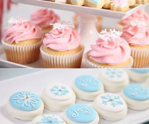 cupcake, food, and Cookies image