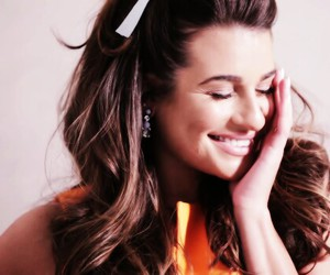 glee, icon, and lea michele image