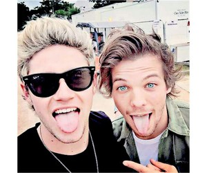layout, niall horan, and louis tomlinson image