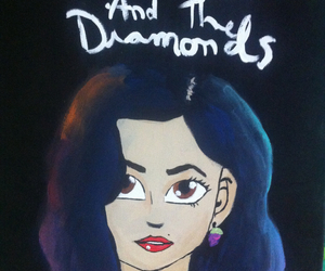 marina and the diamonds, painting, and froot album image