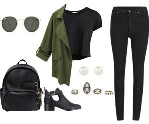 fashion, bag, and Polyvore image