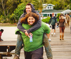 lost, Jorge Garcia, and Matthew Fox image