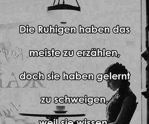 ruhig and schweigen image