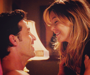grey's anatomy, derek, and meredith image