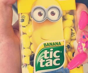 banana, minion, and minions image