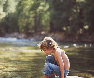 boy, nature, and child image