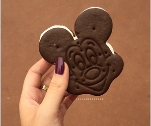 food and mickey mouse image