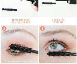 diy, makeup, and make up tutorial image