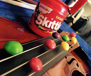 colourful, music, and sweets image