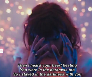 Darkness, with you, and florence + the machine image