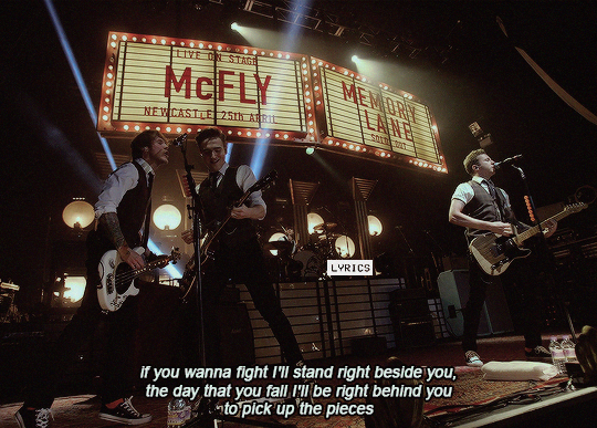 McFly and the heart never lies image