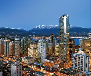 vancouver, canada, and light image