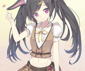 259 images about anime girls w black hair on we heart it see cute anime girls voltagebd Image collections