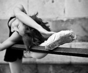 ballet, Dream, and white&black image