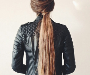 hair, girl, and hair style image