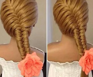 beauty, hairstyles, and styles image
