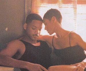 90s, pretty, and african american couple image