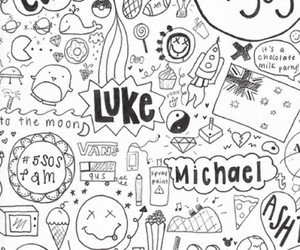 5sos, ashton, and michael image