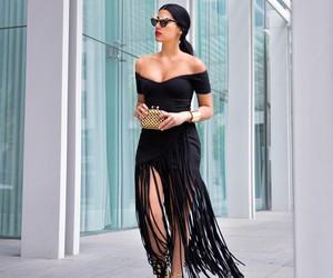 black, luxury, and dope image